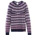 moda otoño 2012 burgundy 3