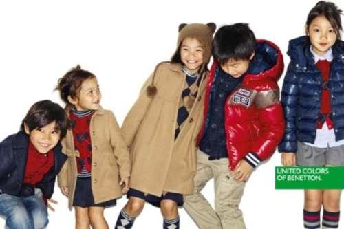 ropa infantil benetton kids