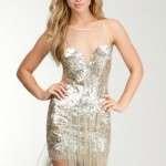 vestidos cortos navidad 2012