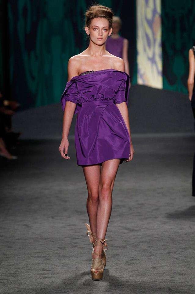 Vestidos de fiesta 2013 Vera Wang - Estás de Moda: Revista de moda ...