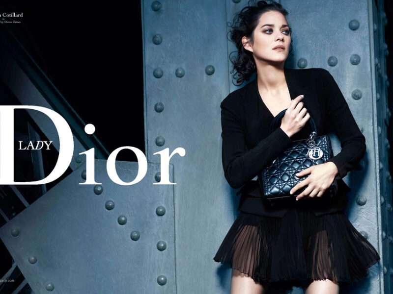 Marion Cotillard diseña bolso para Dior