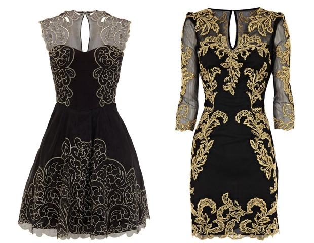 vestidos barrocos