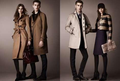 Burberry presenta su colección pre-fall para el otoño 2013