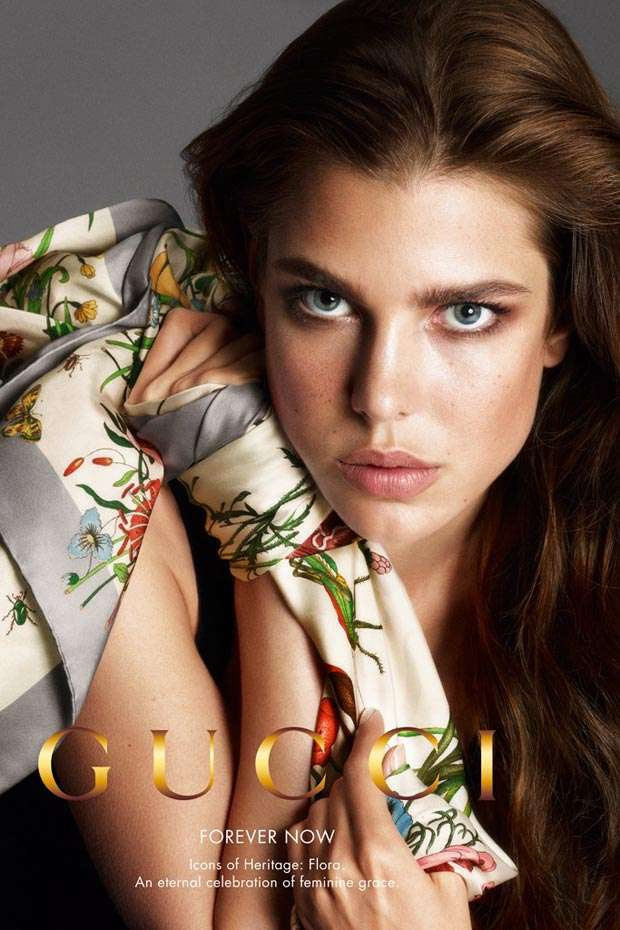 Gucci y Carlota Casiraghi para la primavera/verano 2013