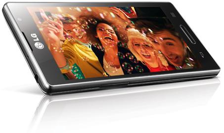 LG optimus L9 smartphone