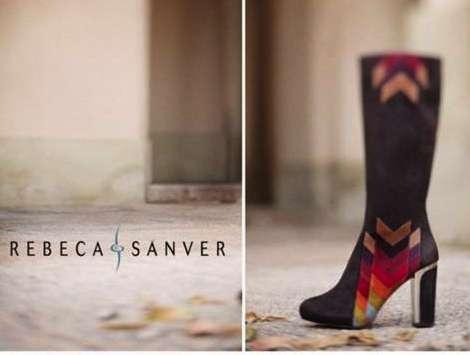 Rebeca Sanver presenta una variada colección de zapatos femeninos