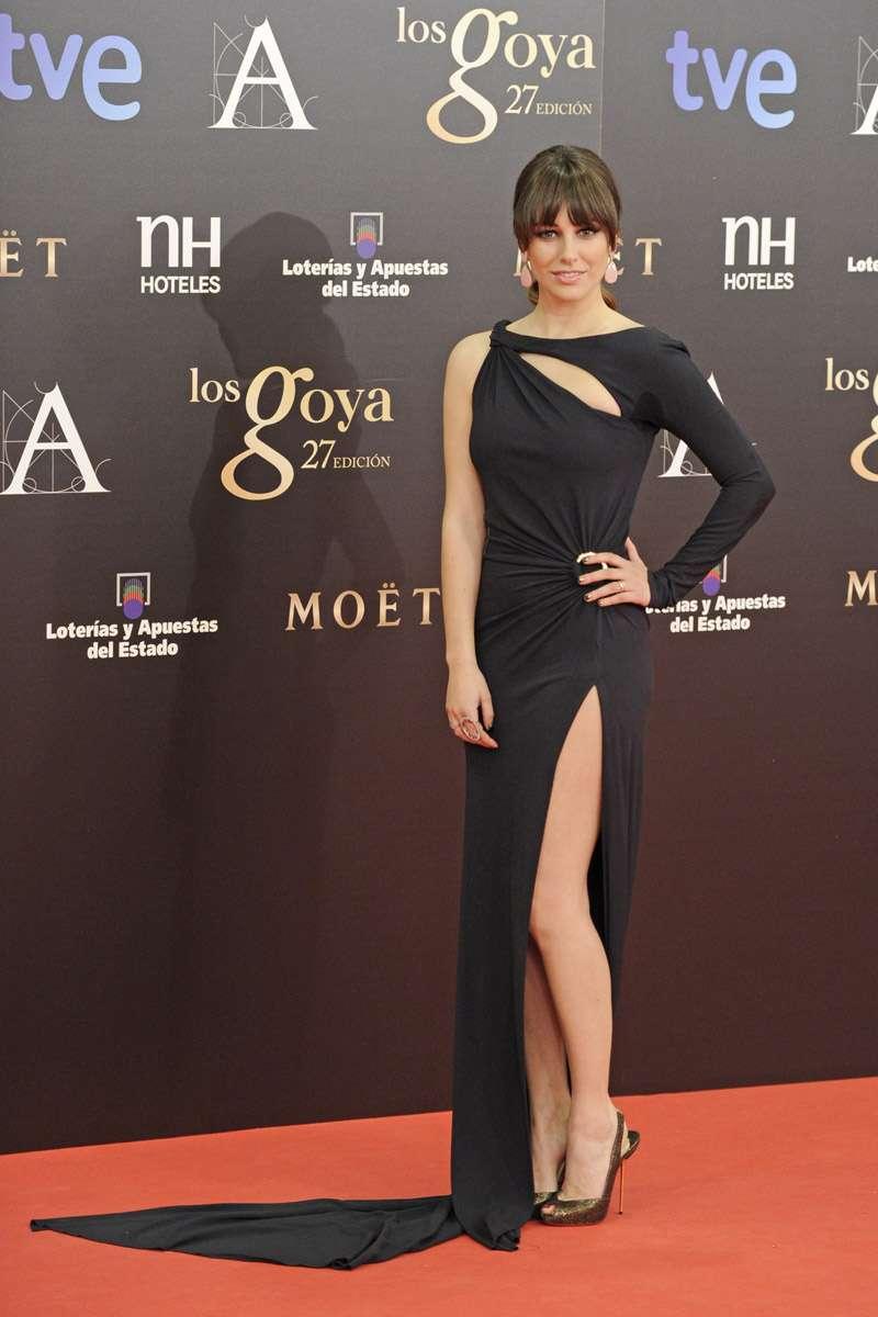 Looks en Blanco y negro en los Premios Goya 2013