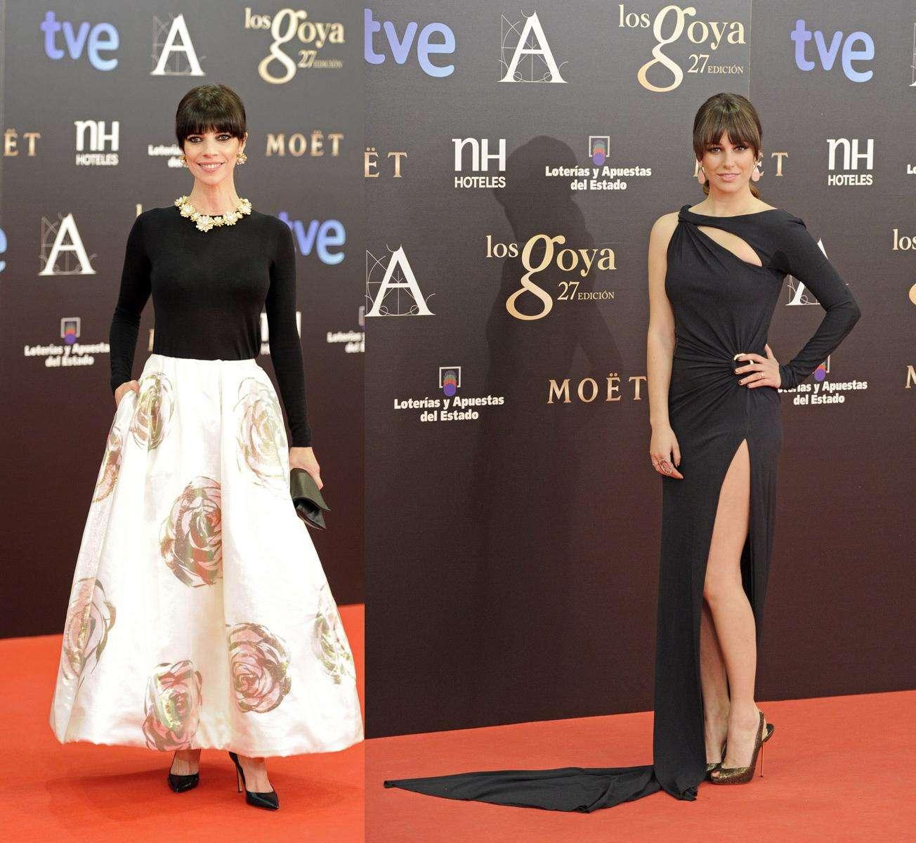Looks en blanco y negro en los Premios Goya 2013 - Parte II