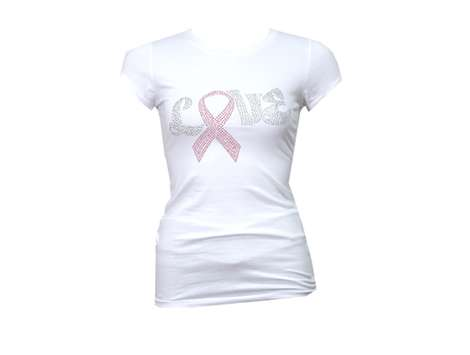 Camisetas de Barbarella contra el cáncer de mama