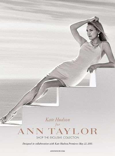 Colección de Kate Hudson para Ann Taylor