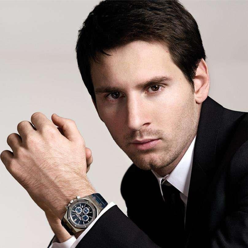 Leo Messi subastará su reloj Audemars Piguet