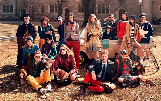 Tommy Hilfiger Otoño-Invierno 2013 ¿Volvemos a la universidad?
