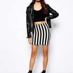 falda rayas asos1