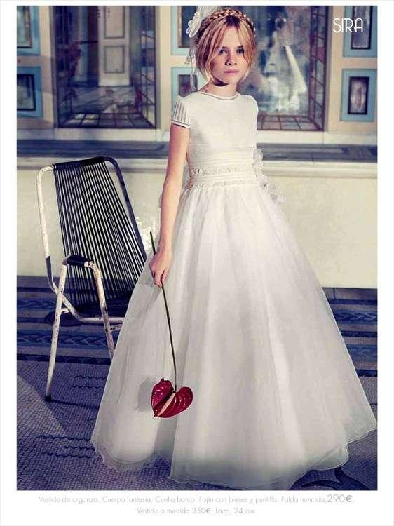 3e96f46a2 Vestidos de primera comunión 2014 El Corte Inglés