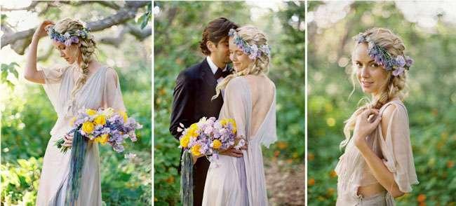 boho-chic boda