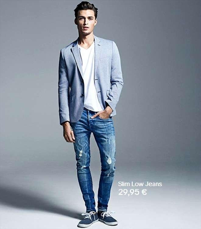 Pantalones Vaqueros Para Hombre H M Estas De Moda Revista De Moda Para Mujeres Y Hombres
