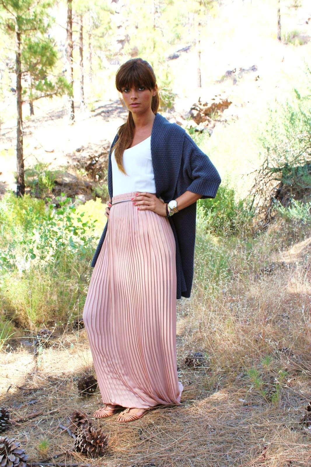 zapato plano falda larga
