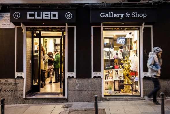 CUBO-gallery shop en zinc shower