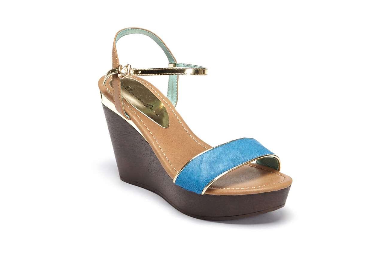coleccion primavera verano 2014 alma en pena - sandalias cuna azul