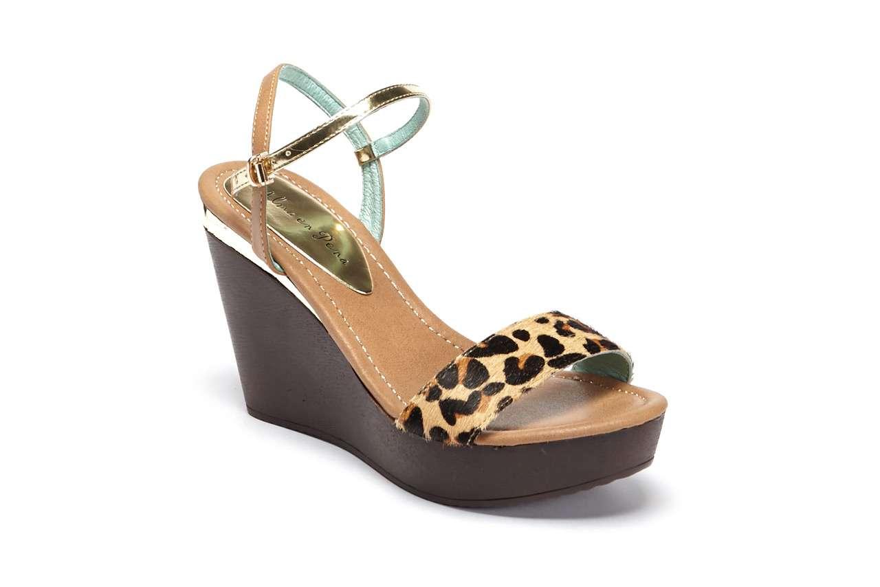 coleccion primavera verano 2014 alma en pena - sandalias cuya leopardo