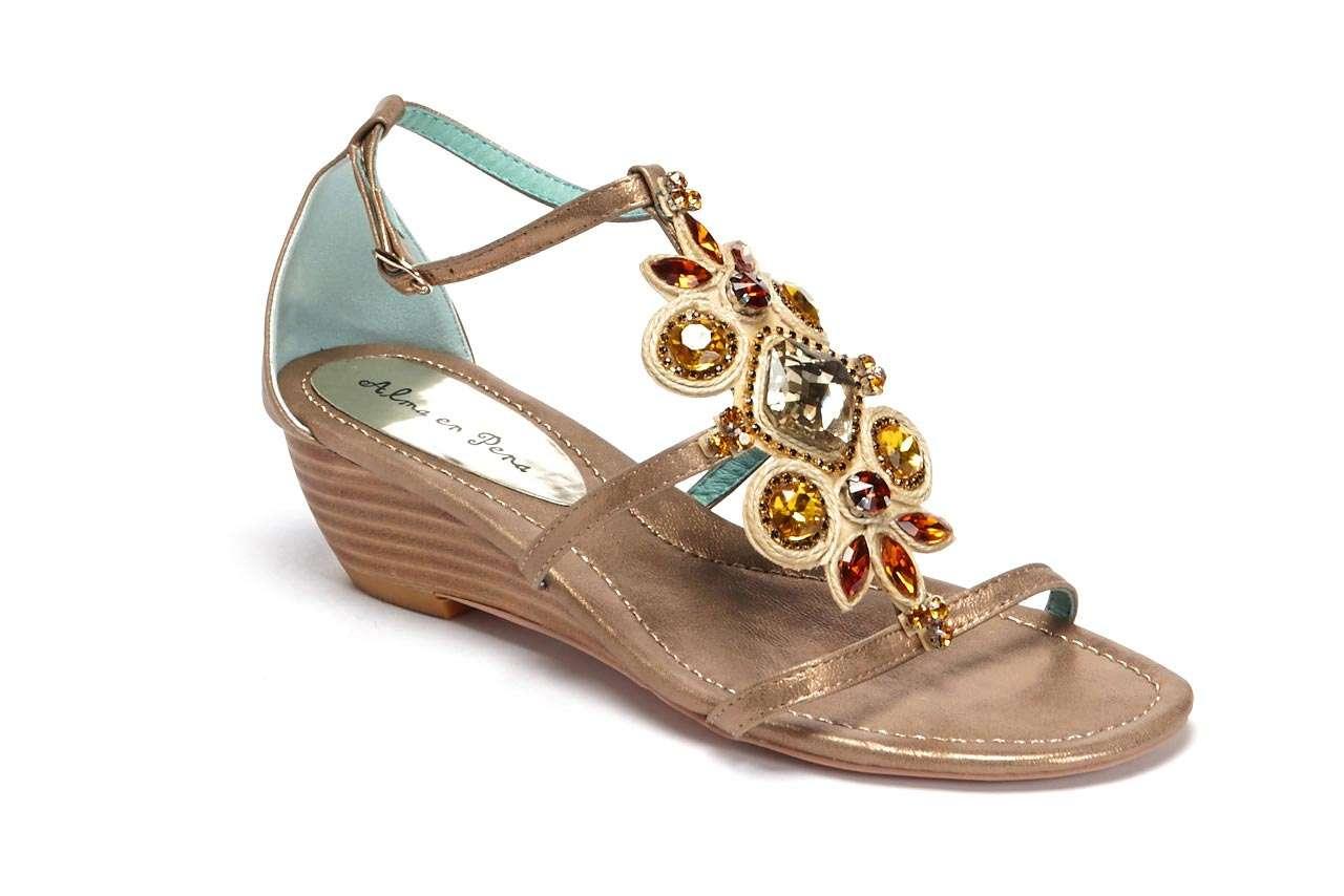 coleccion primavera verano 2014 alma en pena - sandalias piedras preciosas