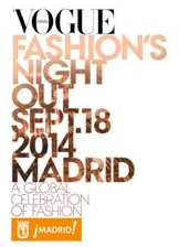 No te pierdas la VOGUE FASHION´S NIGHT OUT MADRID 2014