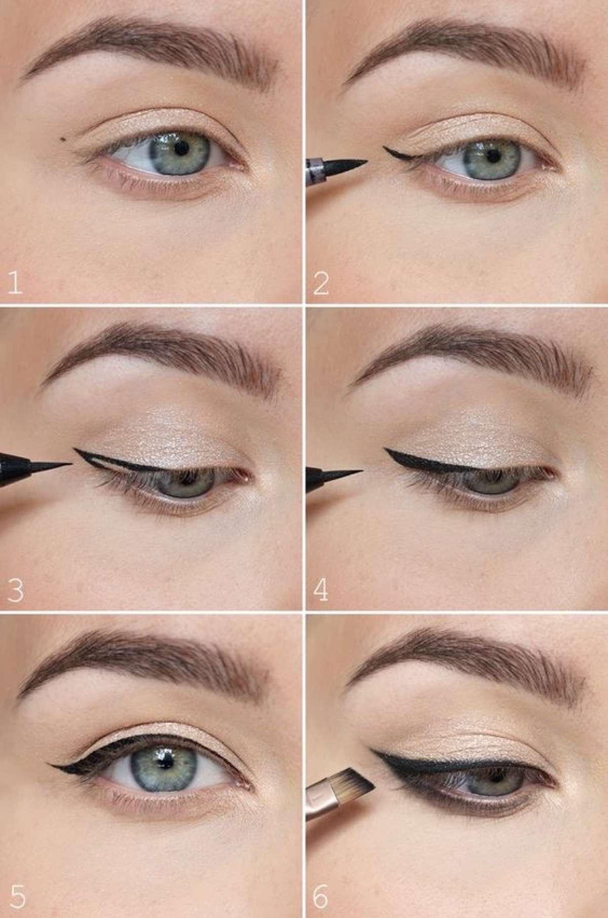 errores al maquillarse con eyeliner