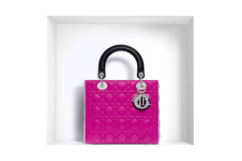 bolso Lady Dior - fucsia