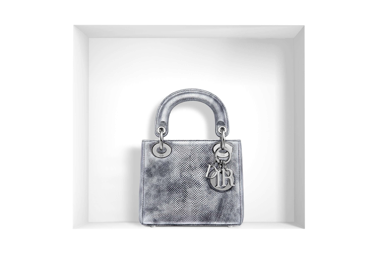 bolso Lady Dior - plata