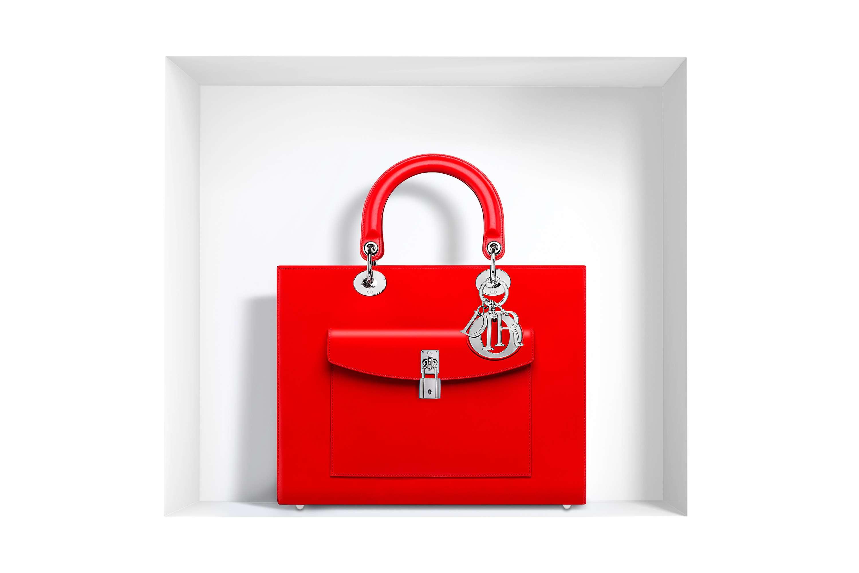 bolso Lady Dior - rojo