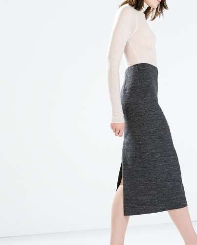 1f3143cd1 Faldas largas a la moda de Zara