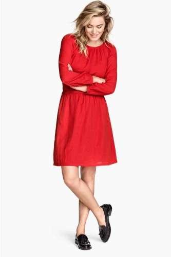 ropa para mujer en color rojo