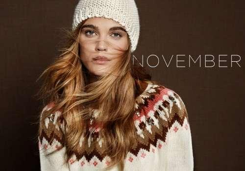 lookbook stradivarius noviembre