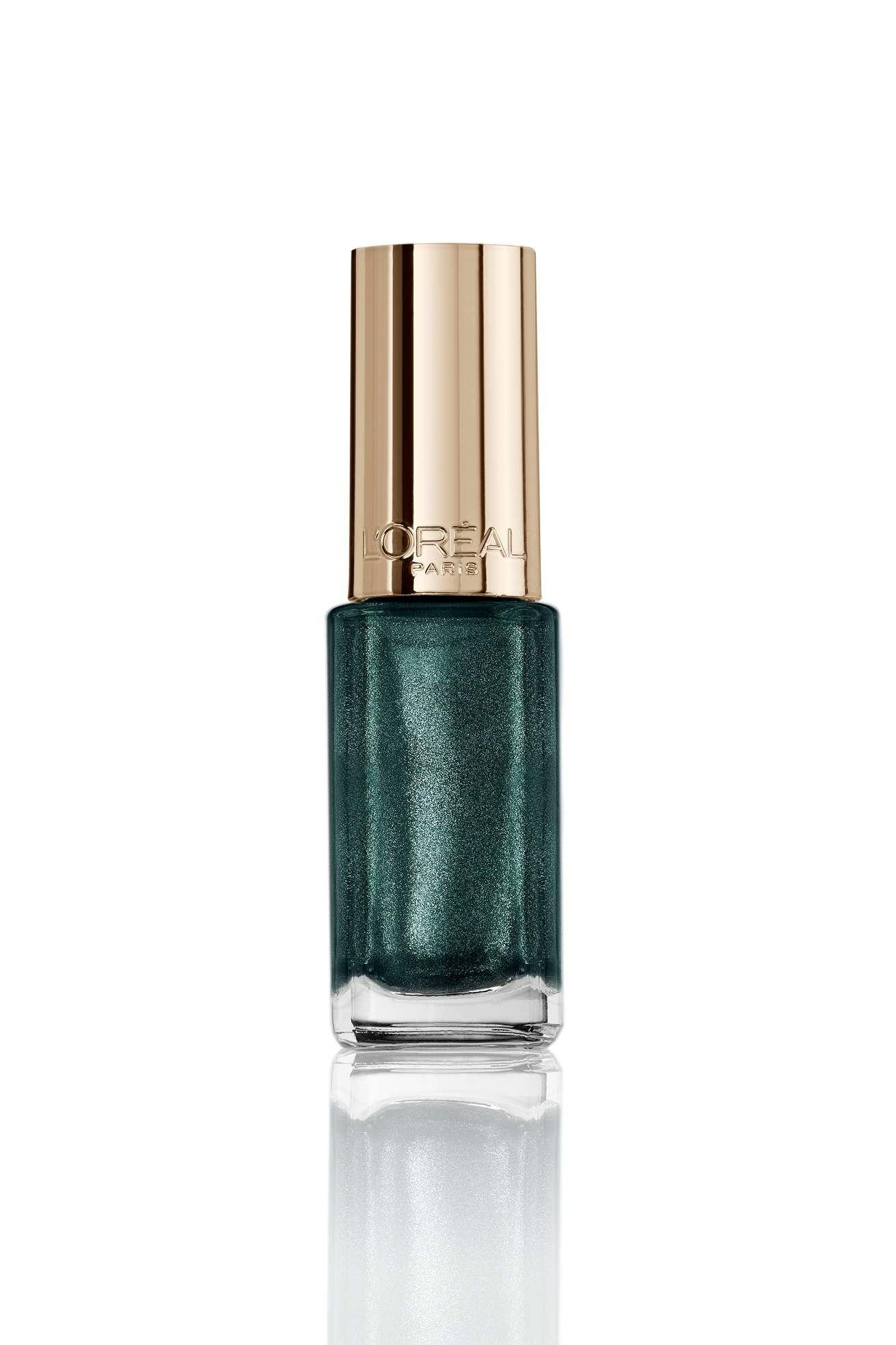 Esmalte de uñas Le Vernis Color Riche_Verde Amatista_L'Oréal PAris_5,95€