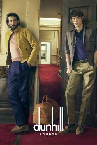 moda primavera 2015 dunhill