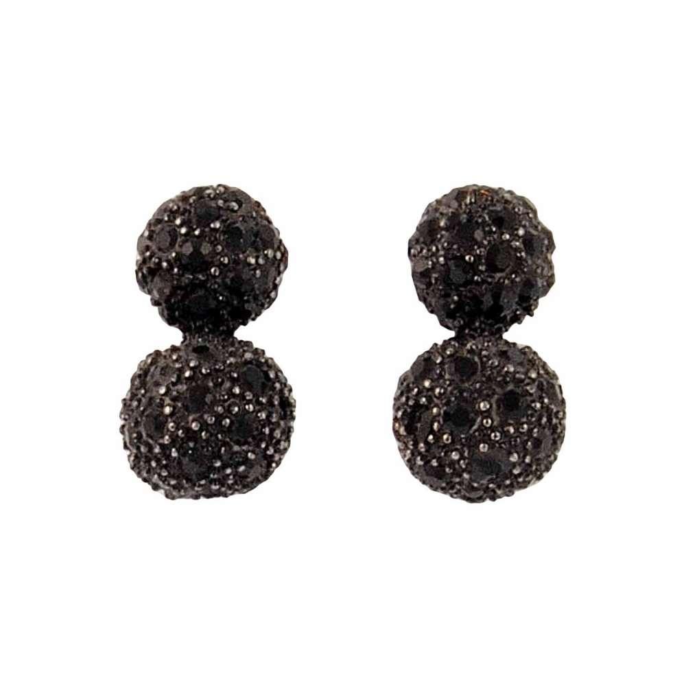 pendientes-dos-bolas-piedras-negras