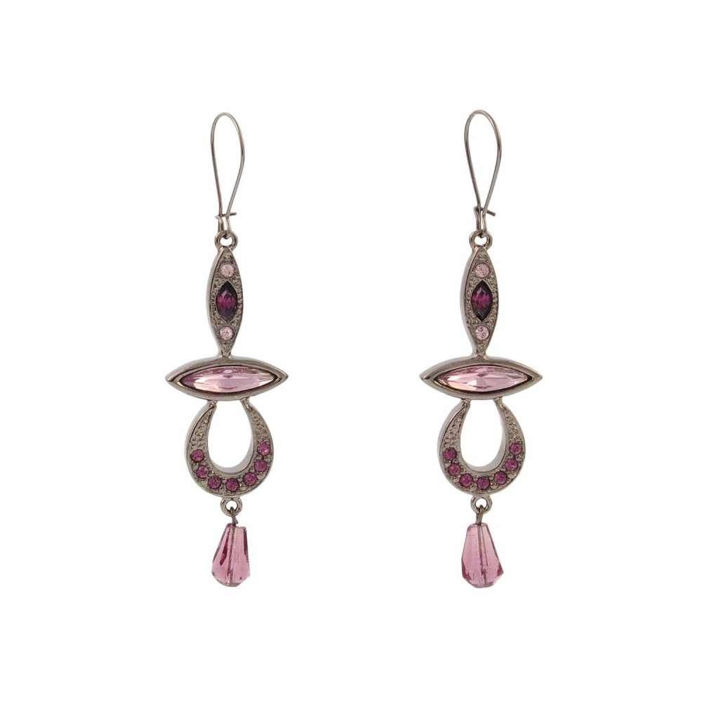 pendientes-plata-con-piedras-violetas