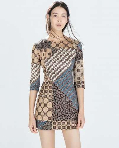 vestidos Zara TRF