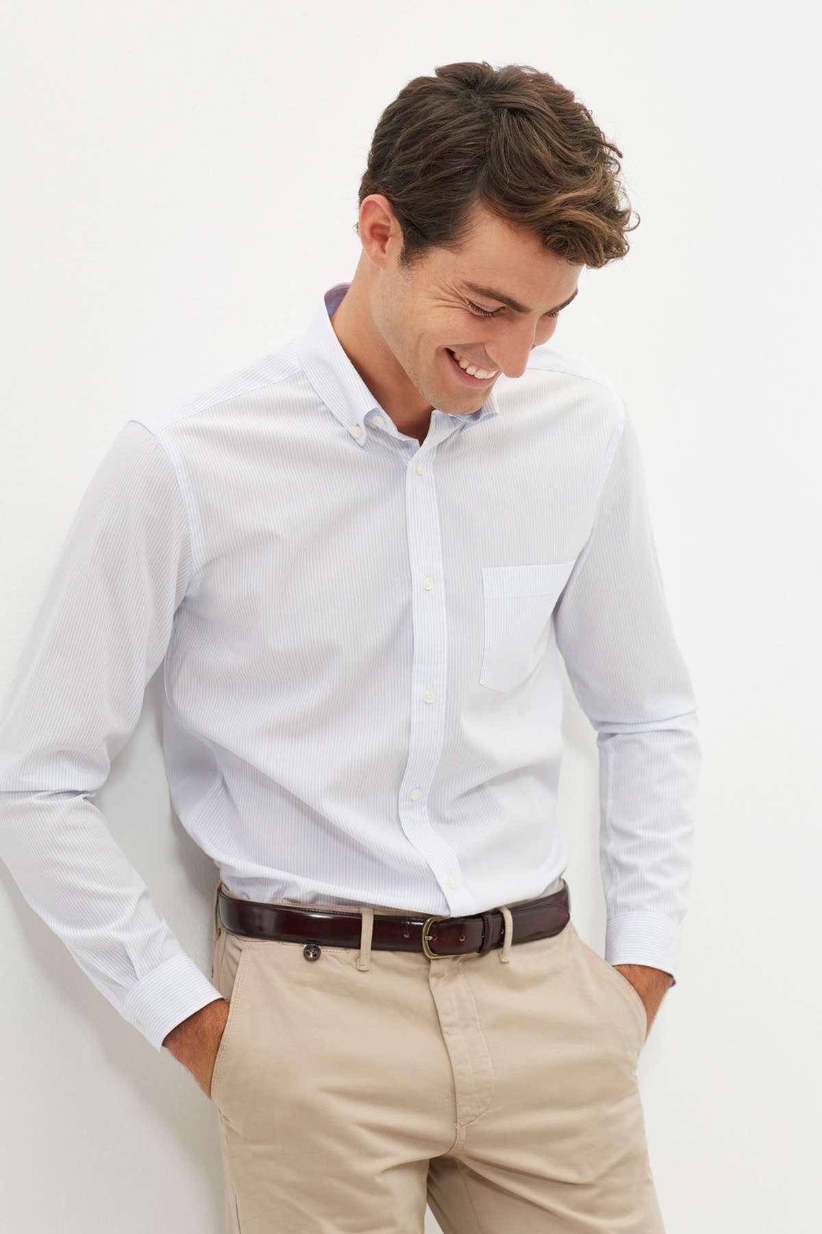 03 camisas de hombre cortefiel