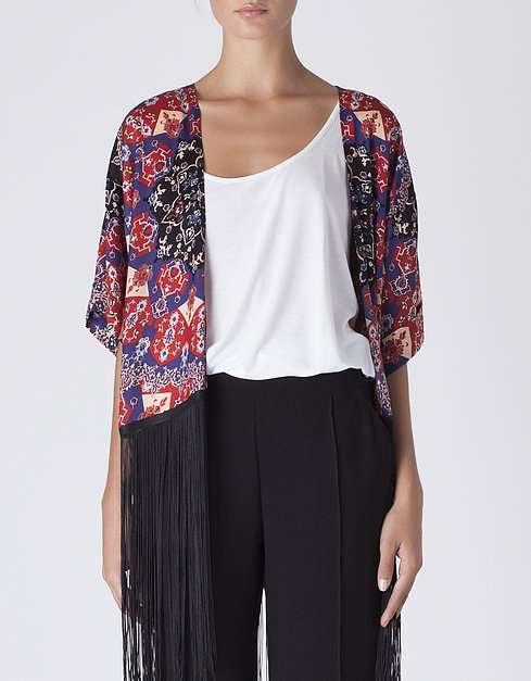 Kimono en rebajas de BLANCO