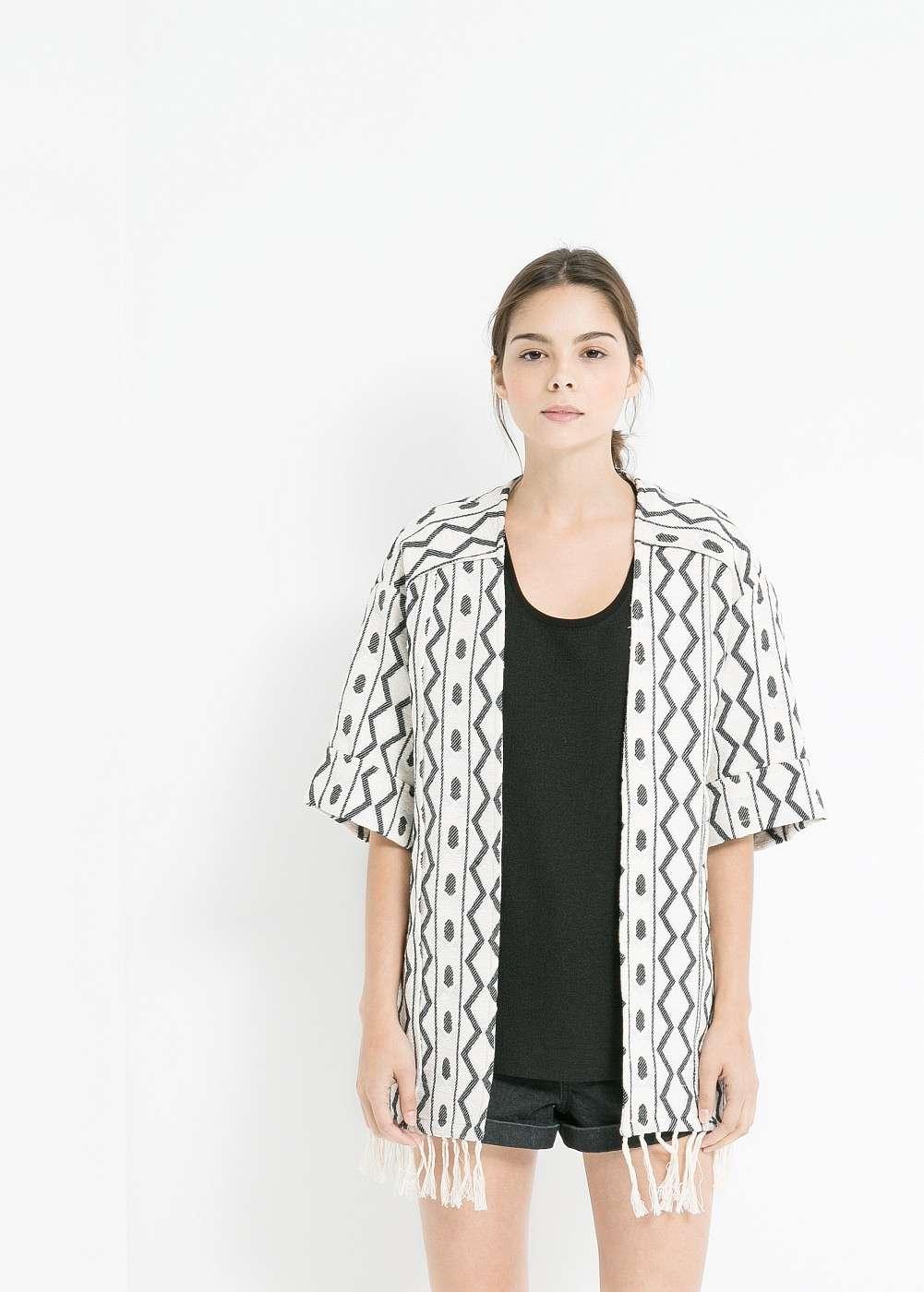 Kimono en rebajas de MANGO