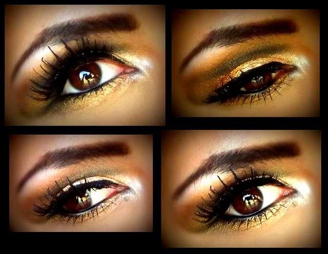 ojos maquillados