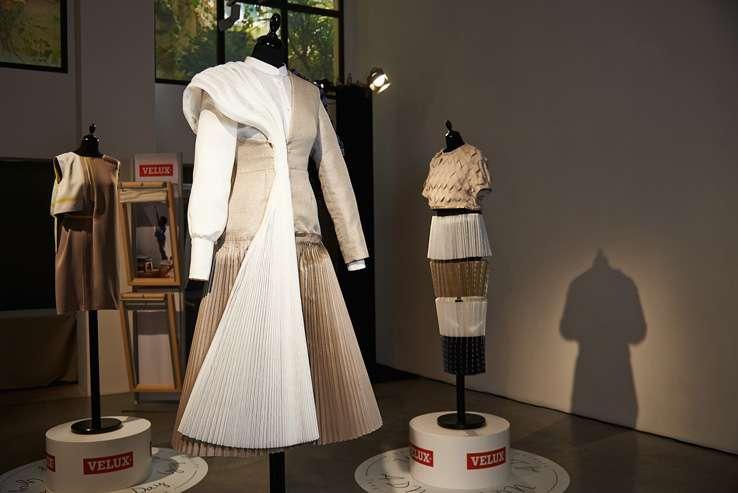 moda hecha con cortinas VELUX 2