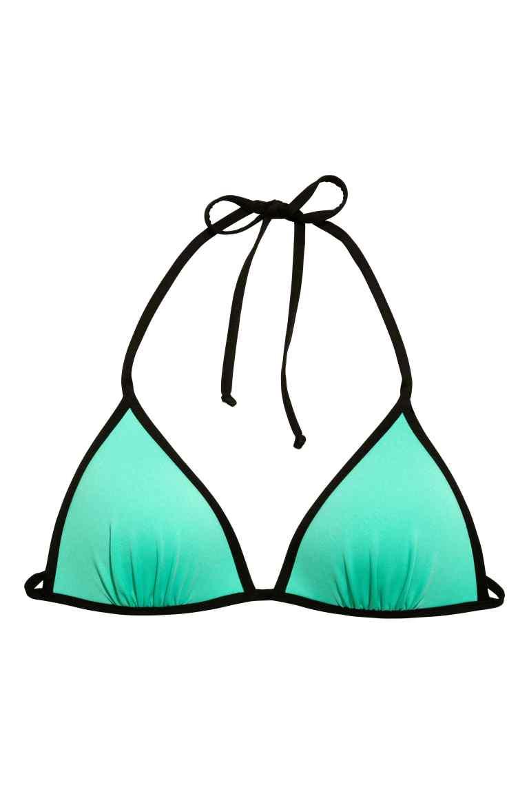 Bikini menta de H&M verano 2015