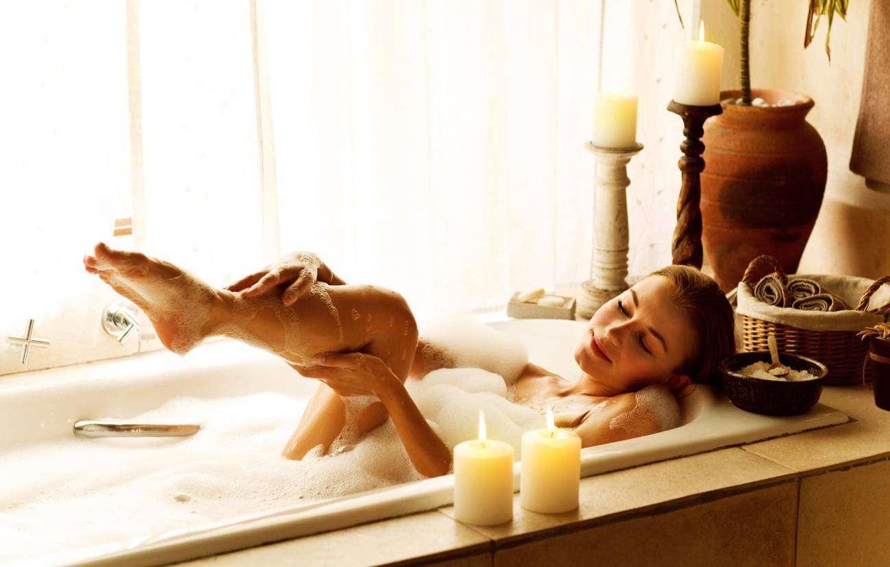 baño relajante para crear tu salón de belleza