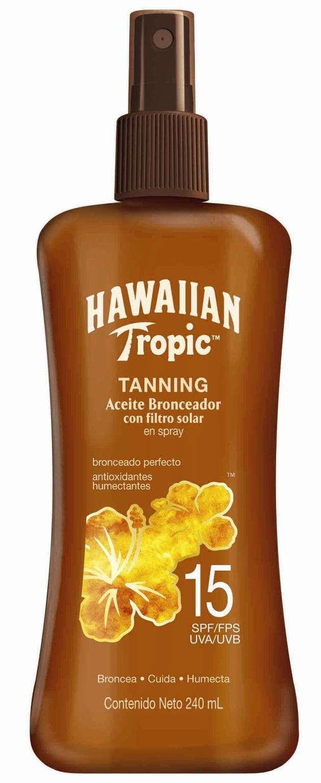 bronceador hawaiian