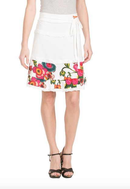 ropa de moda - falda por la rodilla zacarie verano 2015