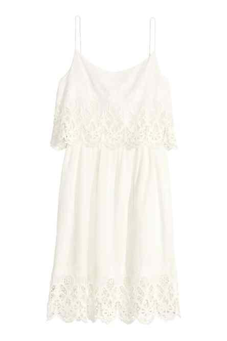 look total white - vestido blanco