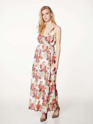 maxi vestido floral top 10 vero moda