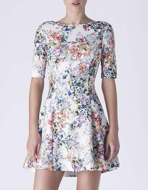 vestido de flore rebajas verano 2015